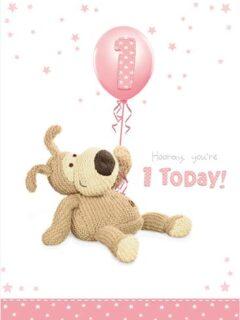 1st Birthday Girl Boofle