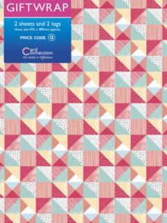 Coral Pattern Gift Wrap