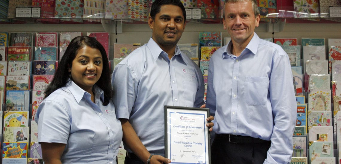 Nishan with certificate