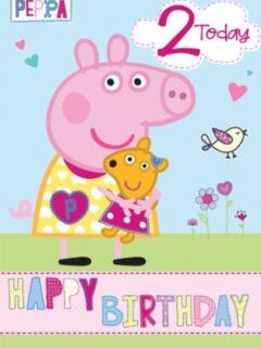 Birthday Peppa 2
