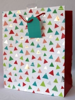 Bright Triangles Gift Bag