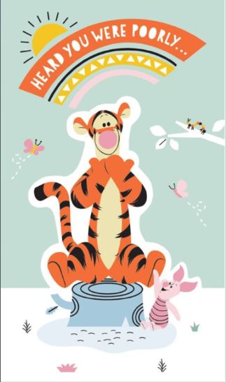 Card Connection Tigger Get Well