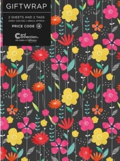 Bright Blooms Gift Wrap