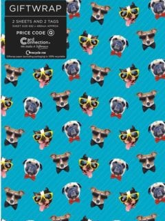Party Dogs Giftwrap