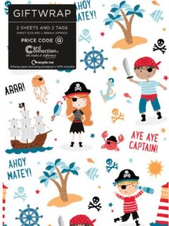 Pirate Gift Wrap