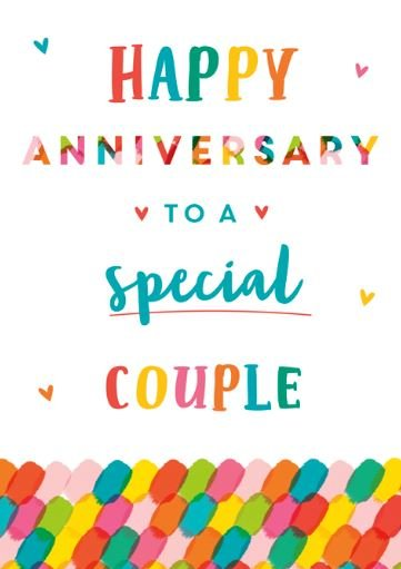 Special Couple Anniversary