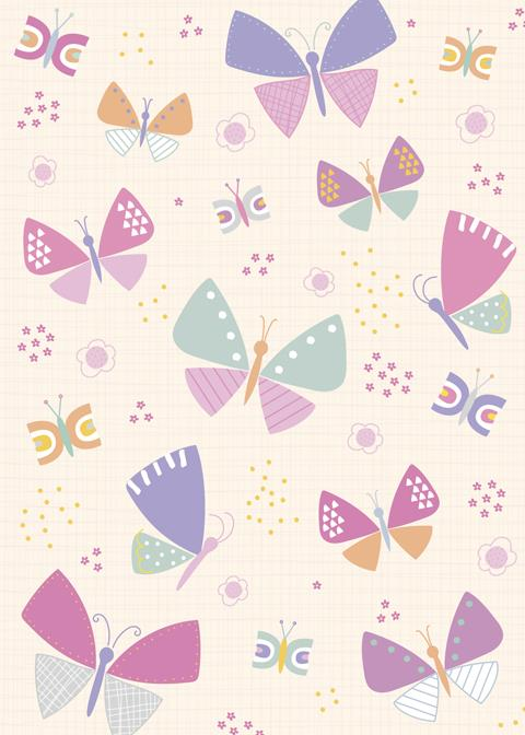 graphic butterflies