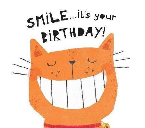 Smile cat card