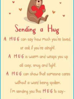 Sending a hug LW